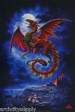 Poster : Fantasy : Dragon - Alchemy Gothic - Free Shipping #24-069 Rap28 A