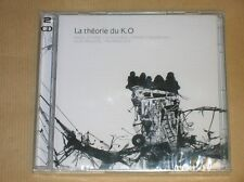 BOITIER 2 CD / LA THEORIE DU K.O / MARC DUCRET, MANNARA, EWANDE / NEUF CELLO