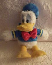 "Disneyland Disney Donald Duck Bean Bag Plush Stuffed Animal 11"" Tall"