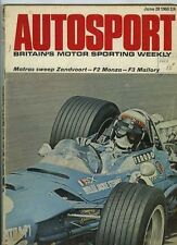 Autosport June 28th 1968 *Dutch Grand Prix*