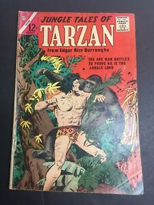 Jungle Tales Of Tarzan #2 VG- 1966 Low Grade Charlton Comic