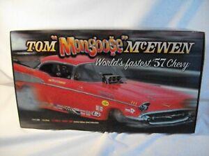 1:16 ~ Prestige Hobbies ~ Tom McEwen '57 Chevy Funny Car ~ #1345/2500 ~ COA