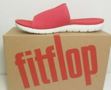 FIT FLOPS  Women's Red AIRMESH Slides / Sandals Size: uk 4,5,6,7