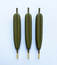 Specialist Sunken Pike Vaned Shaped Slider 5in Floats Pack of 3 British Made