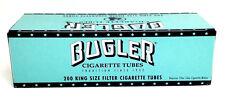 Bugler King Size Cigarette Tubes (box) 200 Full Flavor Filter Tubes NEW USA