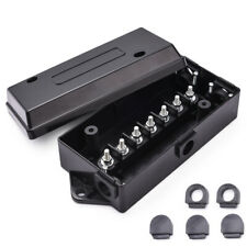 MICTUNING Trailer Wire Cord Junction Box 7 Port way for Car truck weather-proof