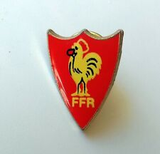 Pin's rugby FFR (rouge)