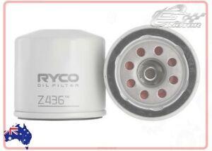 Ryco Oil Filter FOR Nissan Skyline Crossover 2009-2018 370GT (J50) SUV Z436