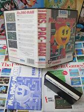 Master System:Ms. Pac-Man [TOP NAMCO & 1ERE EDITION RARE] COMPLET - Pal