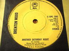 "BRENTON WOOD - ANOTHER SATURDAY NIGHT  7"" VINYL"