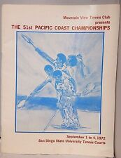 51st Pacific Coast Championships Program Presented by Mountain View Tennis Club