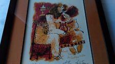 """THÉO TOBIASSE (JAFFA 1927-2012) """" CHANTE MOI LE CANTIQUE DE SION """" N° 61/250 ex"""