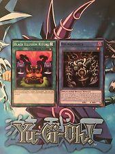 Black Illusion Ritual + Relinquished [MIL1-EN020/EN008] Common, Mint, YuGiOh