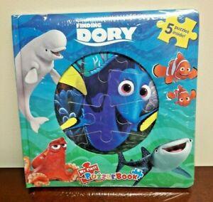 Disney Pixar Finding Dory My First Puzzle Book 5 Puzzle Hank Destiny Bailey Nemo