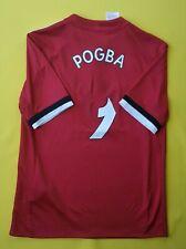 4/5 Pogba Manchester United kids jersey 11-12 y. 2018 shirt AZ7584 Adidas ig93