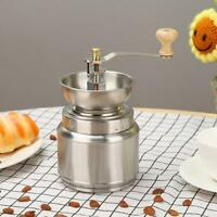Hand Manual Coffee Grinder Handmade Beans Pepper Spice Burr Mill Grinding Tool