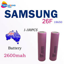 Samsung ICR18650-26F 26F 2600mAh 3.7V Lithium Li-Ion Cell Rechargeable Battery