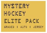 MYSTERY HOCKEY ELITE PACK / CARDS | Graded/Auto/#'d/Jersey Hits | $200 - $600 BV