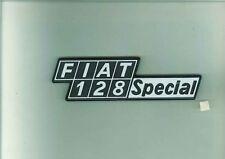 Sigla posteriore in plastica Fiat 128 Special