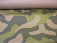5mts Jungle Camoflage pesante tessuto Cordura larghezza 150cms