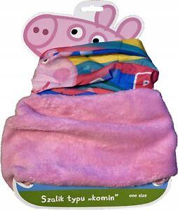 Peppa Pig Winter Neck Warmer Scarf Pink