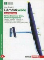 L'Amaldi.verde vol.2 Termod.Onde Elettrom., Zanichelli scuola, cod:9788808534729