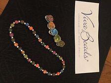 "Viva  Jewelry Toggle Necklace  "" TANGO "" Necklace And Matching Bracelet Set"
