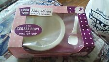 VINTAGE TOMMEE TIPEE CEREAL BOWL IN ORI BOX WHITE BOWL