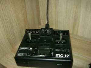 Graupner Sender MC 12 im 40 Mhz- Band FM SSS mit  Akku