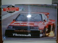 NISSAN SKYLINE SUPER SILHOUETTE 1982 RACE CAR ,1/24 PLASTIC KIT AOSHIMA,