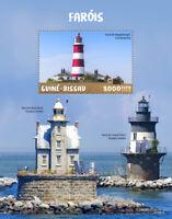 Guinea-Bissau Lighthouses Stamps 2020 MNH Happisburgh Lighthouse 1v S/S