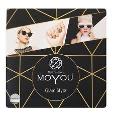 MoYou Nail Fashion GLAM nail art Stamping Plates, 15 plates to choose from