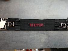 Kieffer Kurzgurt , schwarz, 60 cm, 3 schnallig