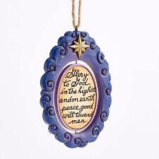 Holy Family Rotating Disk Ornament by Jim Shore - 4055358 - Nib!