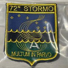 PATCH 72° STORMO RICAMATA