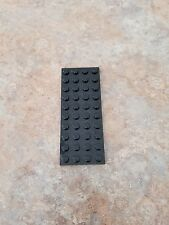 Lego Black Plate 4 x 10, Part # 3030