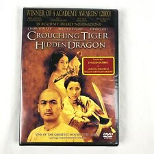 Crouching Tiger, Hidden Dragon (Dvd, 2000) Ang Lee Chow Yun Fat New & Sealed