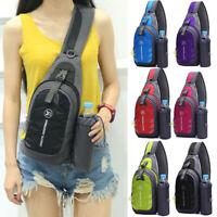 Waterproof Chest Bag Travel Sport Shoulder Sling Backpack Cross Body Gift Small
