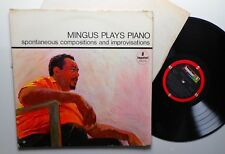 Mingus plays piano spontaneous compositions and improvisations Impulse! A-60
