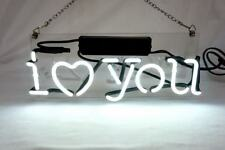 New 'I Love You  Beer Pub Acrylic Neon Light Sign 14""