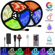 Strip Lighting 10M 300 LED Light Colour Changing RGB Waterproof Remote Control