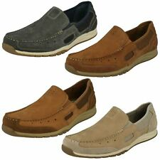 "Mens Clarks Casual Slip On Shoes ""Ramada Spanish"""