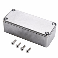 Aluminum Pedal Enclosure Bottom Container Boxes for Guitar 1590A 92x38x31mm