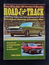 Road & Track Sept 1970 Mercedes-Benz 280SE - 454 Corvette - Chevrolet Vega Pinto
