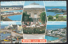 Somerset Postcard - Views of Weston-Super-Mare     RS1989