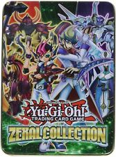 Yu-Gi-Oh Zexal Collectors Tin with 21 Cards Set - High Power Cards