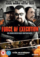 Force of Execution DVD (2014) Steven Seagal, Waxman (DIR) cert 15 ***NEW***
