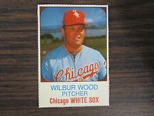 1975 Hostess Cup Cakes #68 Wilbur Wood Card Chicago White Sox (B67)