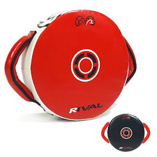 Rival RPS7 Fitness Plus Punch Shield Red Black Leather Training Focus Pads