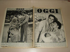 OGGI=1957/32=VIAGGIO MODA ITALIANA SPECIALE=TANAQUIL LE CLERCQ=GREVE IN CHIANTI=